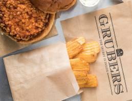 Grubers Burgers | Riccardo Giraudi | Restaurant | Crispy Corn Fries